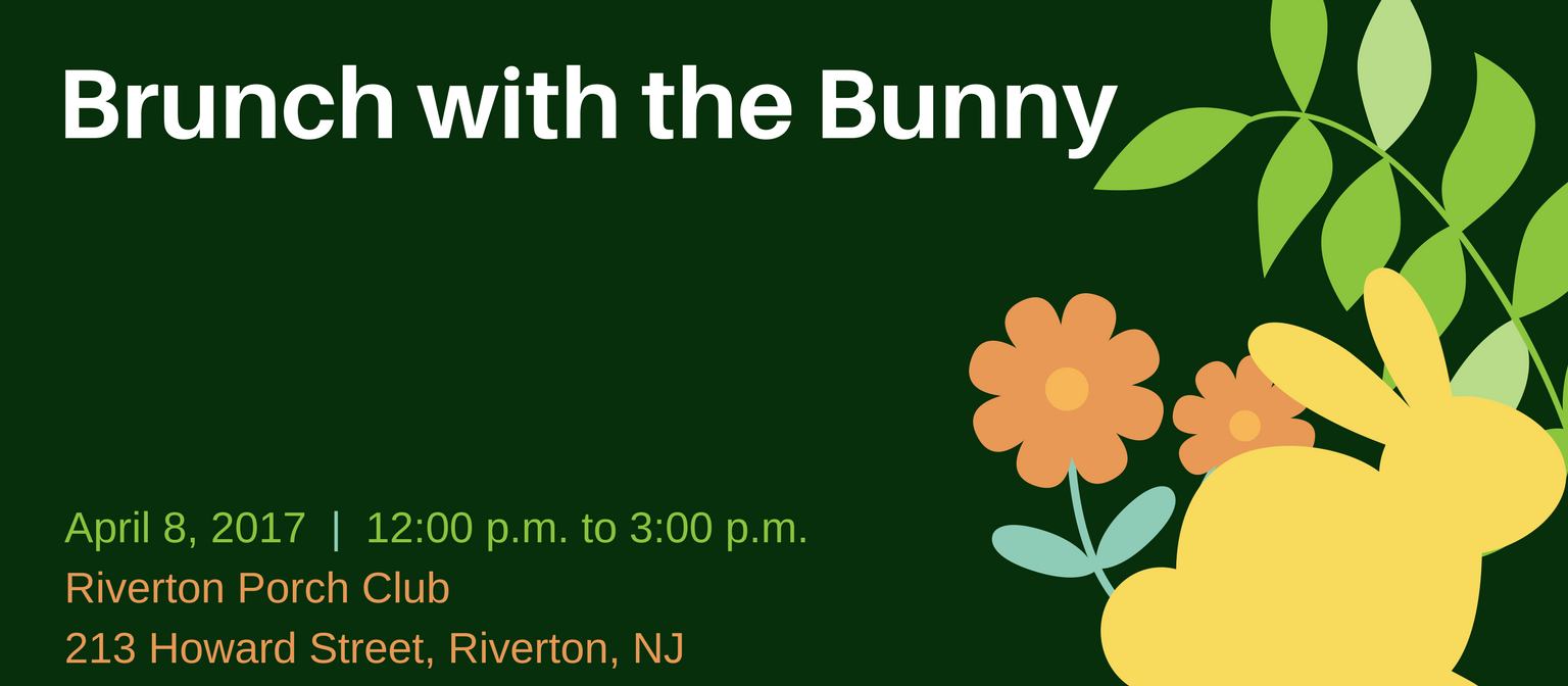 Join Us for Brunch with the Bunny 2017